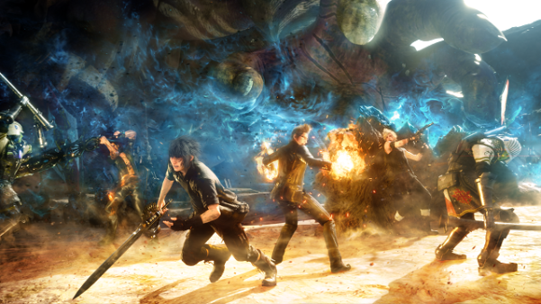 final_fantasy_xv_key_art3b_characters_in_battle